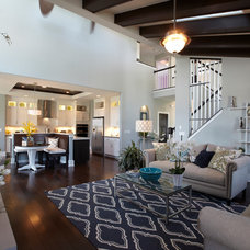 Traditional Living Room by Tim O'Brien Homes