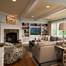 Modern Living Room by Witt Construction