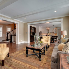 Traditional Living Room by Highmark Builders