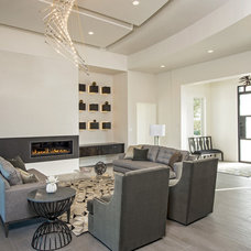 Contemporary Living Room by Seven Custom Homes