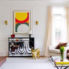 Contemporary Living Room by Raji RM & Associates