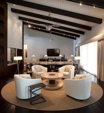 Contemporary Living Room by Ernesto Garcia Interior Design, LLC