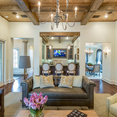 Modern Living Room by Anderson Fine Homes