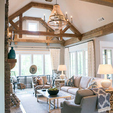 Farmhouse Living Room 2014 Southern Living Inspired Home