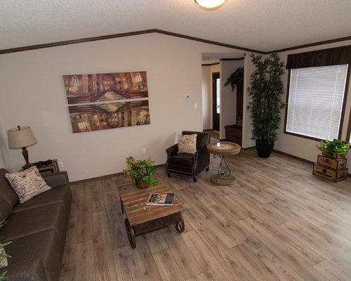 Linoleum living room
