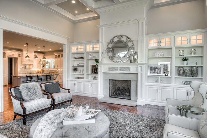 Traditional Living Room by Davies Design Build