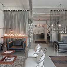 Contemporary Living Room by Dunlap Design Group, LLC