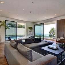 Modern Living Room by Meridith Baer Home