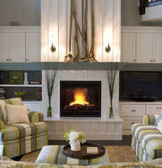 contemporary living room by Shane D. Inman