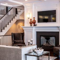 Traditional Living Room 224 Balmoral Heights