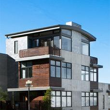 Modern Living Room by Barker O'Donoghue Master Builders