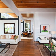 Contemporary Living Room by Meridith Baer Home