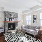 Soho Condo Toronto Contemporary Living Room Toronto