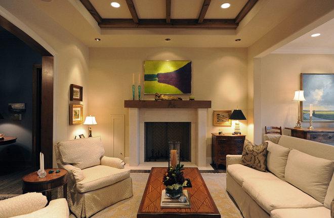 Contemporary Living Room by Herridge & Assoc., Inc.