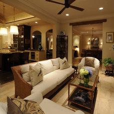 Traditional Living Room by Herridge & Assoc., Inc.