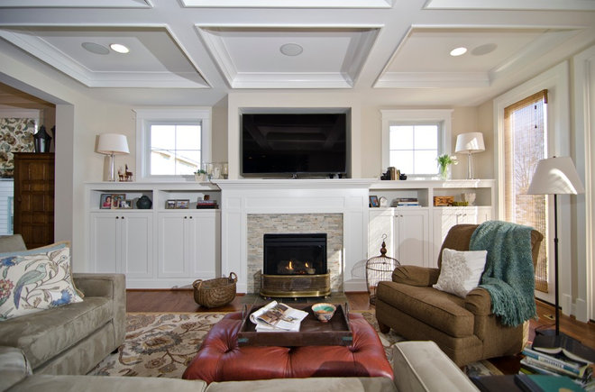 Traditional Living Room by Arlington Home Interiors