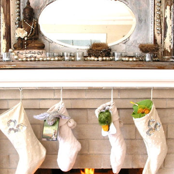 25 Gorgeous Holiday Mantels by Houzzers