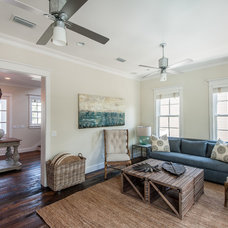 Beach Style Living Room by Emerald Coast Real Estate Photography