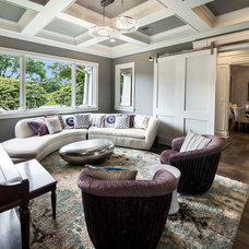 Contemporary Living Room by C-Reese Architectural Design