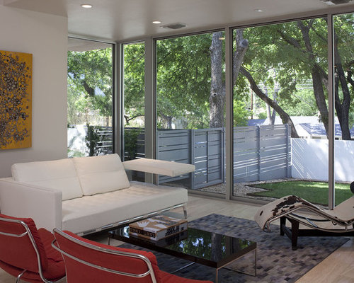 Modern austin living room design ideas remodels photos for W living room austin
