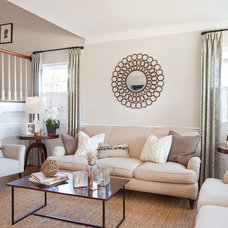 Traditional Living Room by GEORGE Interior Design