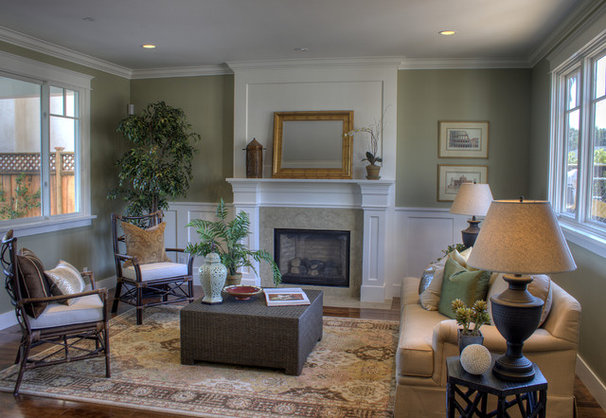 Traditional Living Room by Supple Homes, Inc