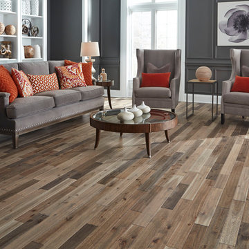 "3/4"" x 3-1/2"" Bar Harbor Acacia Distressed Prefinished Solid Flooring"
