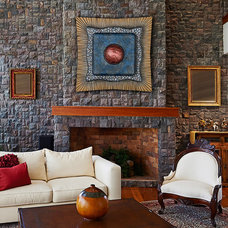 Contemporary Living Room by di Boor