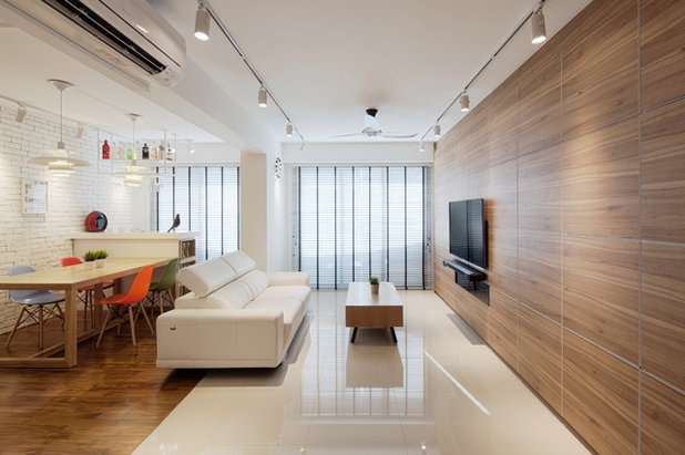 Scandinavian Living Room by Posh Home