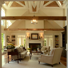 Traditional Living Room by Hope Beckman Design