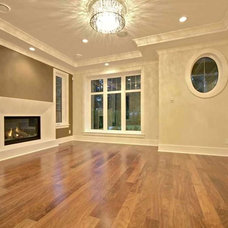 Traditional Living Room by Marble Construction