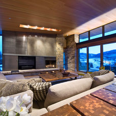 Contemporary Living Room by Teri Fotheringham Photography
