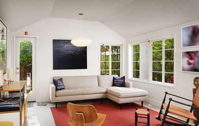 Houzz Tour: A New Layout Opens an Art-Filled Ranch House