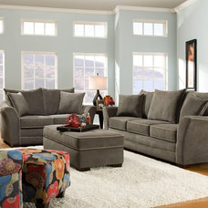 Contemporary Living Room by Wolf Furniture