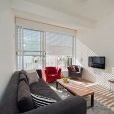 Modern Living Room by Netalie peled