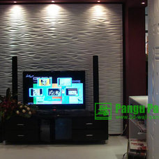 Contemporary Living Room by PANGU WOODWORK CO., LTD