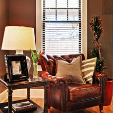 Traditional Living Room by Redbud Custom Homes