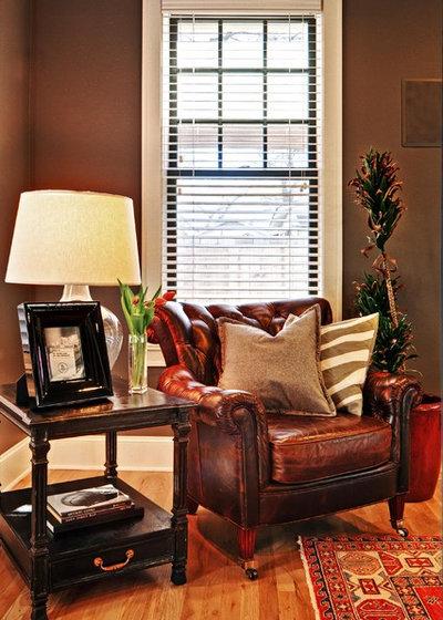 Traditional Living Room by Redbud Custom Homes