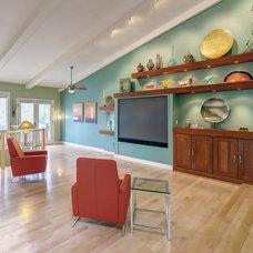Modern Living Room by S&K Interiors