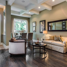 Transitional Living Room by Steele Consulting Group
