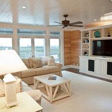 Contemporary Living Room by Blue Sky Building Company