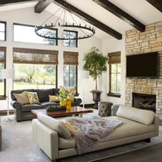 Traditional Living Room by Paragon Homes