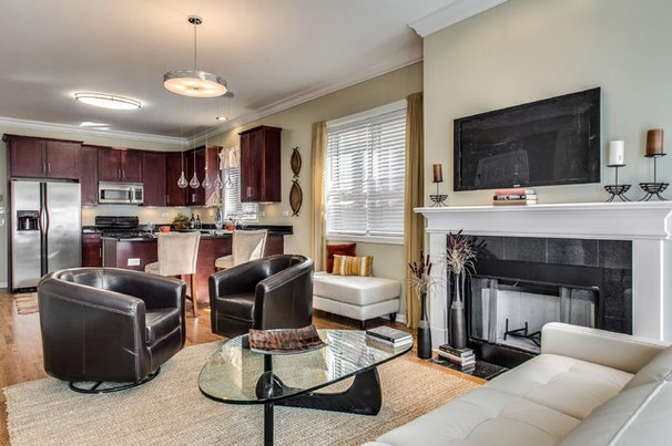 Traditional Living Room by Steele Consulting Group