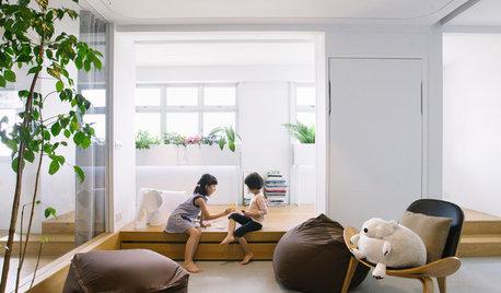 光と緑が心地よい、公営住宅のリノベーション