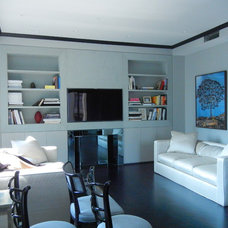 Contemporary Living Room by IPD Partners, Inc.