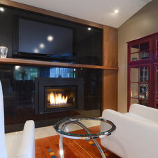 Contemporary Living Room by Bryce and Doyle Craftsmanship