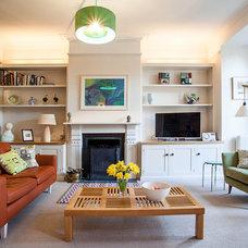 Midcentury Living Room by Niki Schafer Interior Design