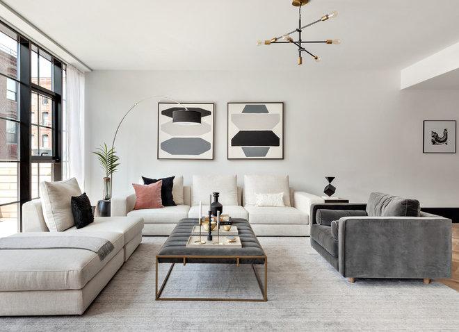 Midcentury Living Room by Urban Casa