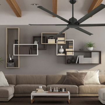 52 inch Titan II Oil Rubbed Bronze Ceiling Fan with Extruded Aluminum Blades by