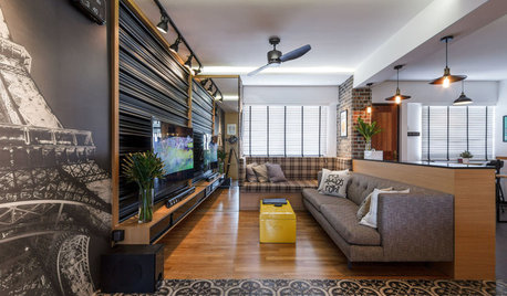 Houzz Tour: This Bachelor Flat's Owner Wanted it All and Got it